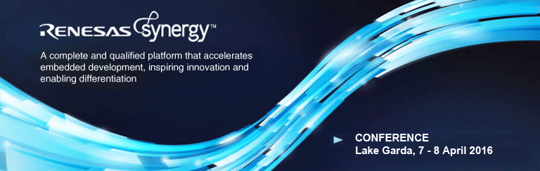 Renesas Synergy Engineering Conference